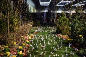 Our small slice of Azalea Way at the 2015 Garden Show.