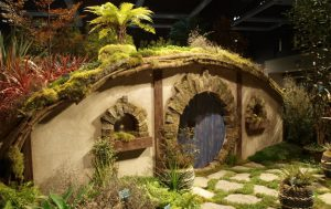 A Hobbit's New Zealand Garden, celebrating Peter Jackson's movie and the New Zealand Forest at the Arboretum.