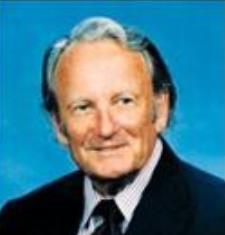 John Bollard (1927 - 2014), helped create the Arboretum's first eco-geographic exhibit.