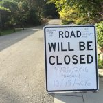 Arboretum Drive South End Closed Till Mid October