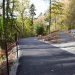 Loop Trail Construction On Track