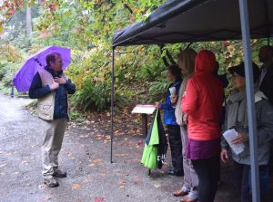 Ray Larson talks about Sarah's passion of teaching and plant conservation in the Woodland Garden.