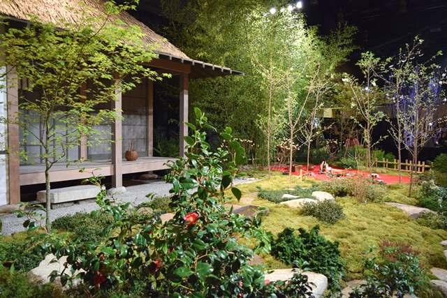 Arboretum Show Garden Celebrates Japanese Picnicking Custom